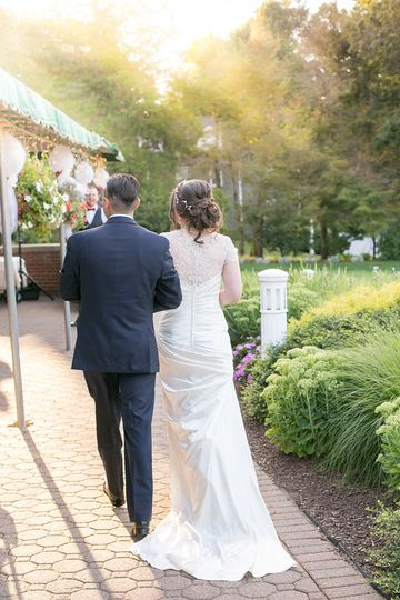 Outdoor Patio Wedding