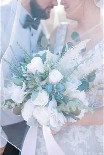Beautiful whimsical bouquet