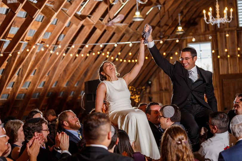 Reception in our hayloft