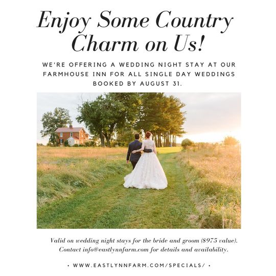 Enjoy Some Country Charm on Us
