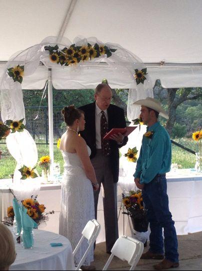 Cowboy Country Wedding