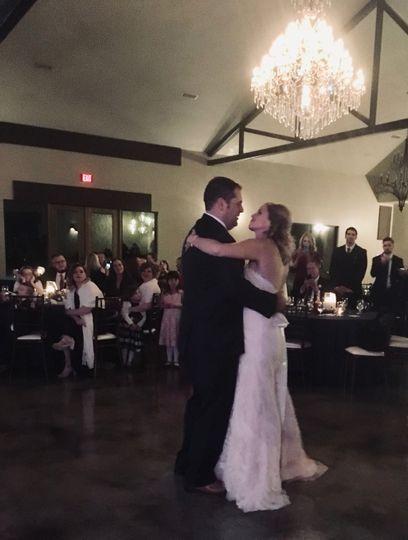 1st Dance Mr & Mrs Hendrickson