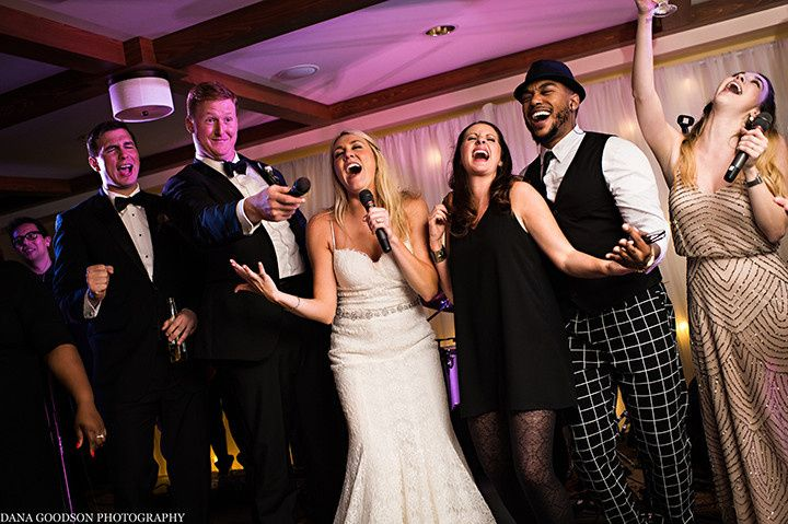 The bride with EastCoast Entertainment