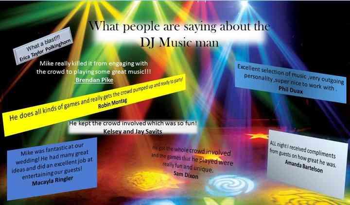 The Dj Music Man