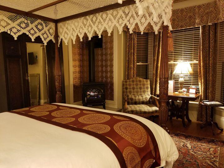 Honeymoon night bridal suite