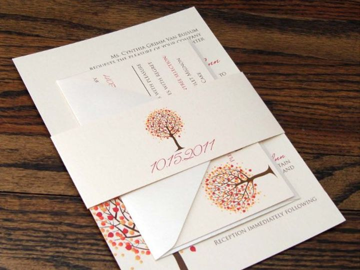 Tmx 1319650216102 DSC03596 Indianapolis wedding invitation