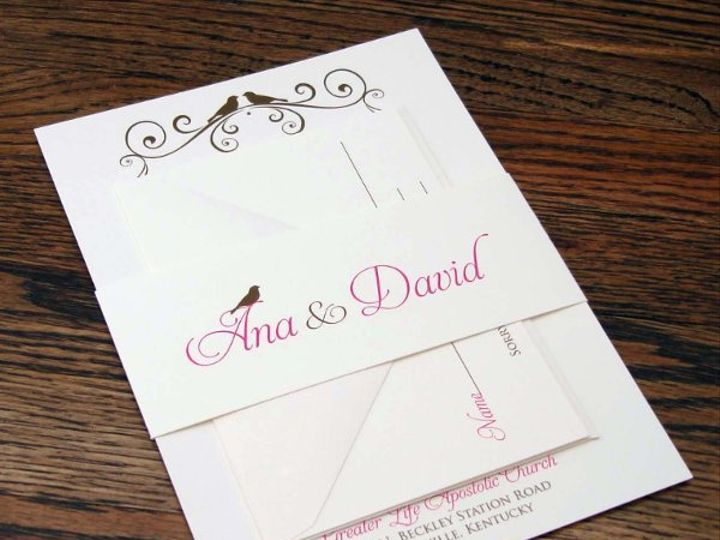 Tmx 1319650688690 DSC03830 Indianapolis wedding invitation