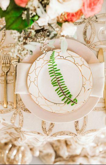 Beautiful custom tableware