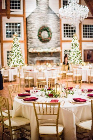 A holiday wedding