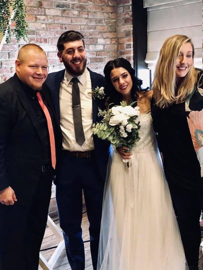 Chris and Rachel's special day