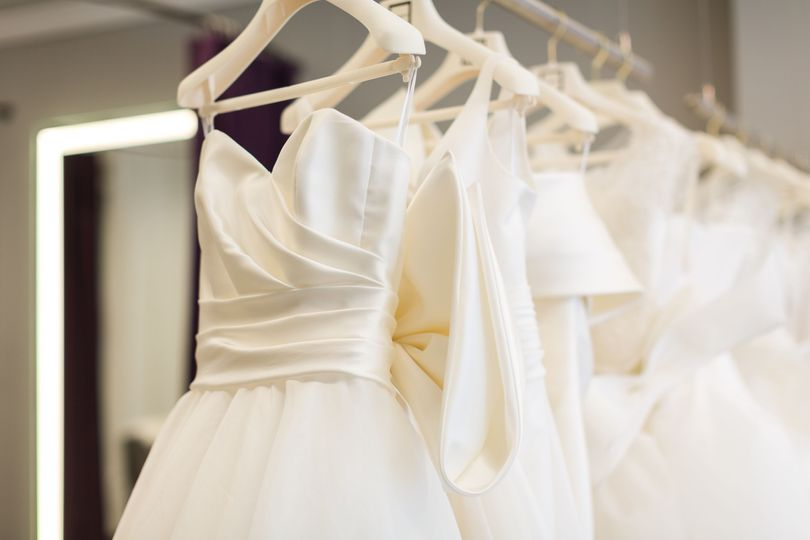 Creamy dresses