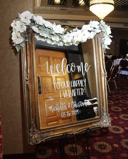 Personalized Welcome Mirror