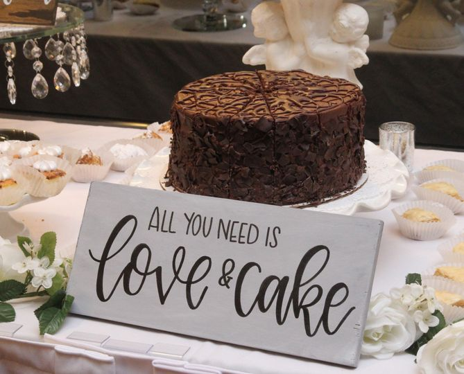 All you need is love & cake.
