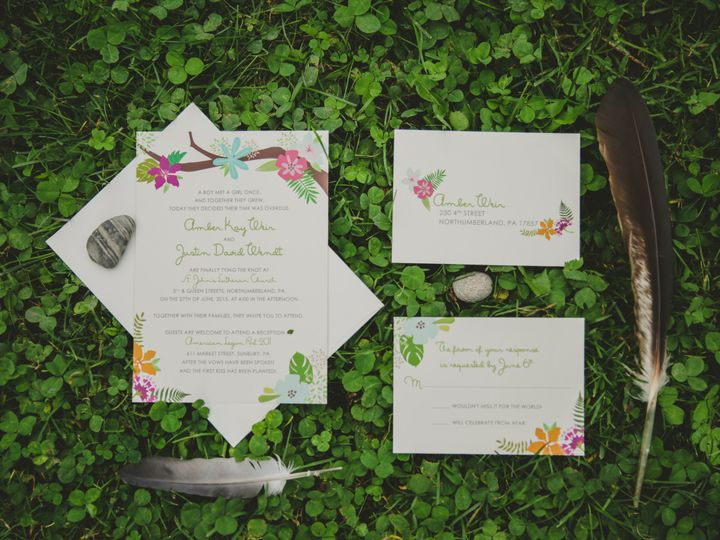 Tmx 1460155895299 Fpproduct5 Middleburg, PA wedding invitation