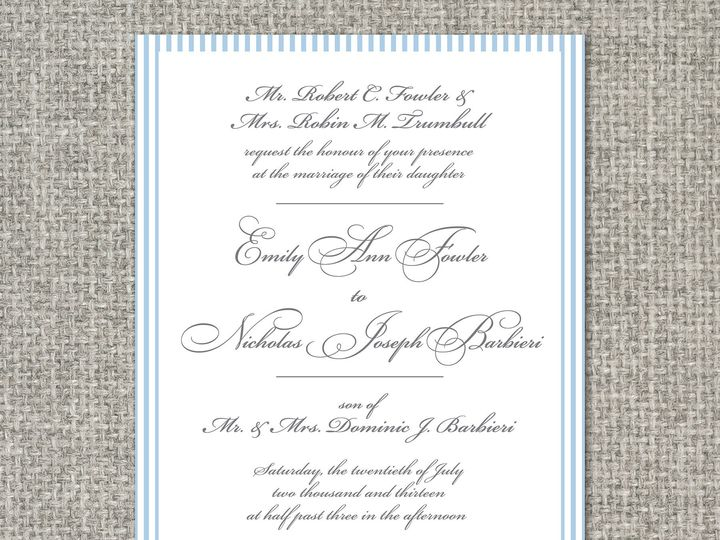 Tmx 1460156336416 Anninvitation Middleburg, PA wedding invitation