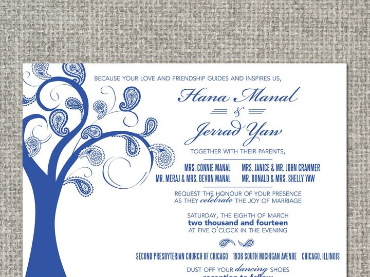 Tmx 1460156416921 Hanainvitation Middleburg, PA wedding invitation