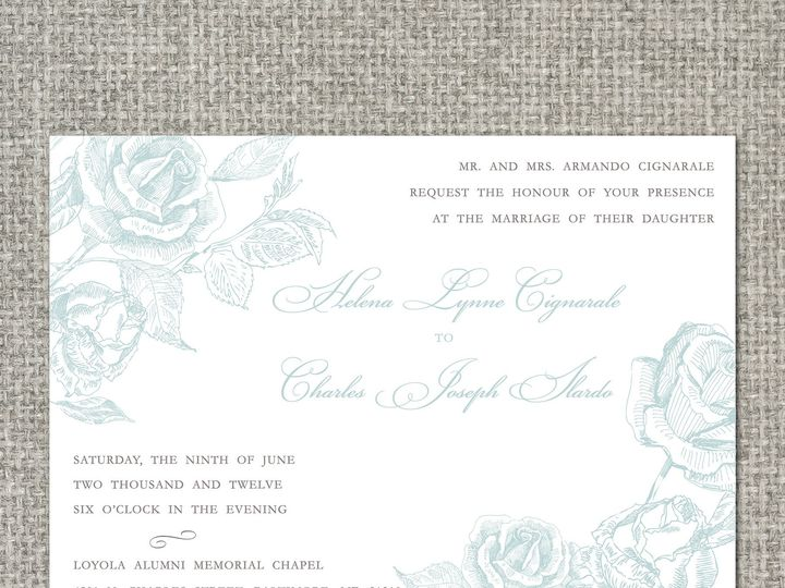 Tmx 1460156442800 Helenainvitation Middleburg, PA wedding invitation