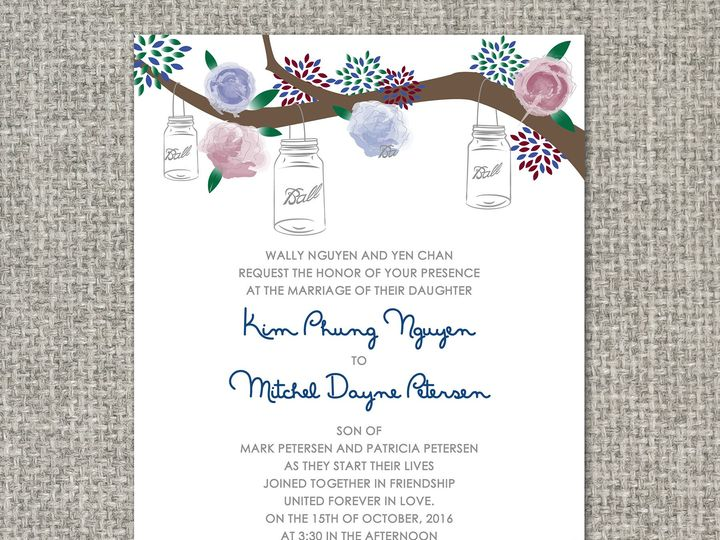 Tmx 1460156575454 Lucyinvitation Middleburg, PA wedding invitation