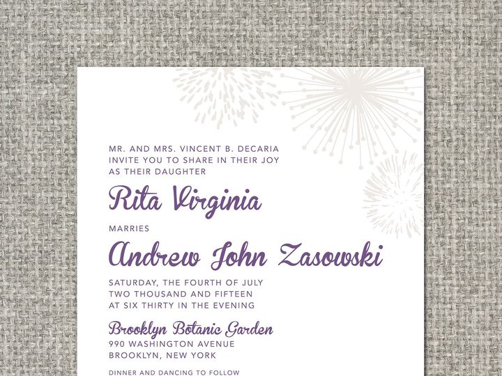 Tmx 1460156628367 Ritainvitation Middleburg, PA wedding invitation