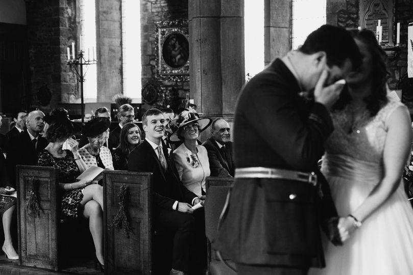 Real emotion at church