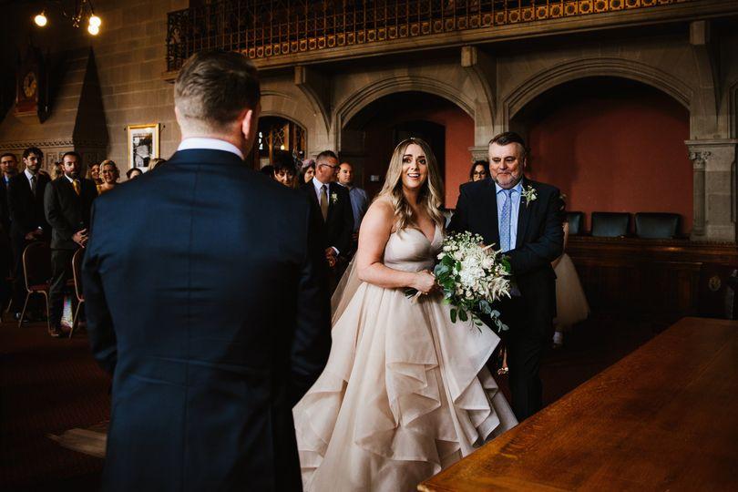 Town hall wedding