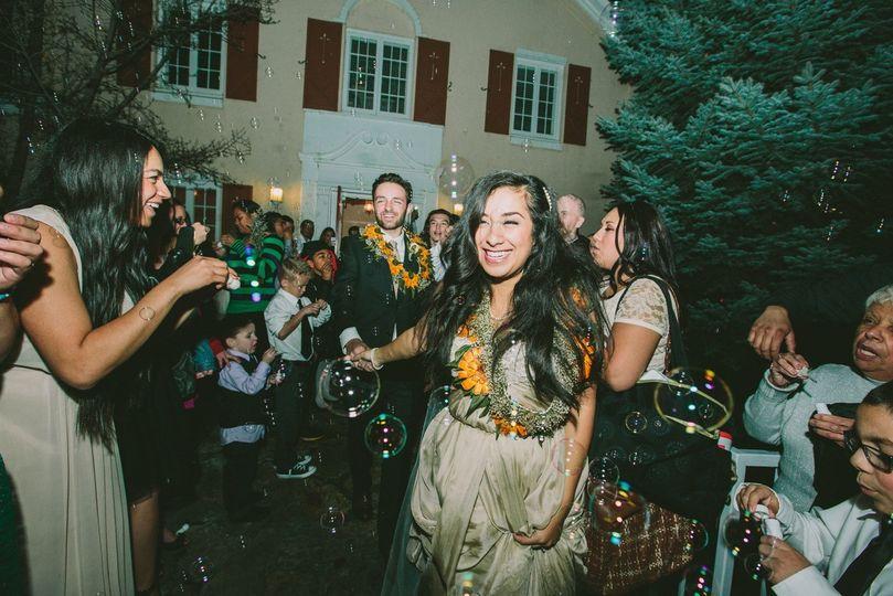moa bride bubbles