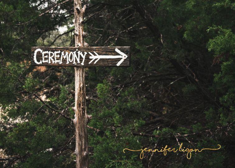ceremony sign 1