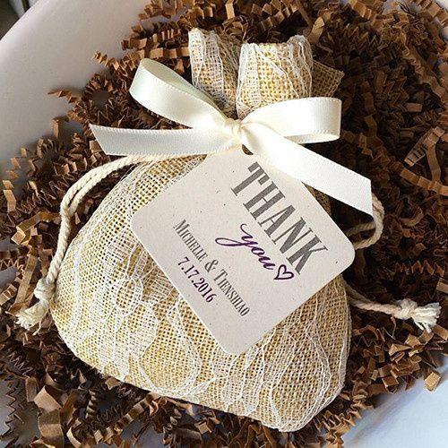 Tmx 1477330447368 Burlap Lace 2 Pasadena wedding favor