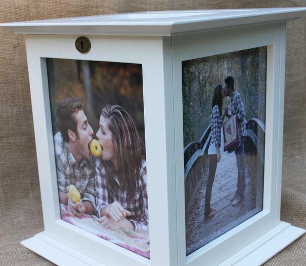 The Perfect Card Box Favors Gifts NATIONWIDE WeddingWire – Picture Frame Wedding Card Box