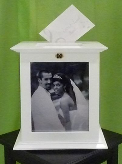 Locking White Wedding Card Boxes by The Perfect Card Box Company