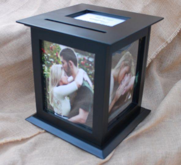 Black Card Box for weddings