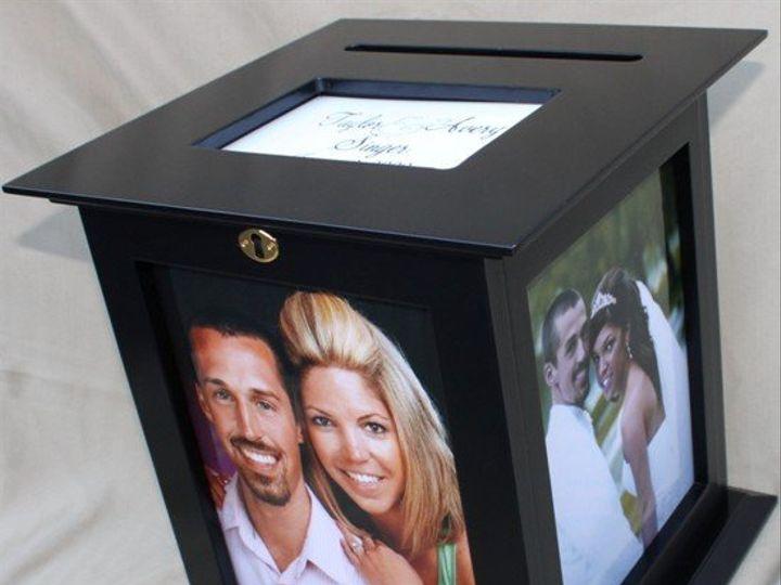 Tmx 1345232406074 WeddingChicksBlackCardBox Suffolk wedding favor