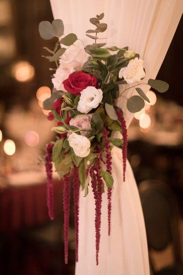 Curtain bouquet