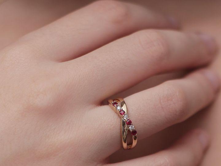 Tmx Ruby Wedding Band 51 419105 160207313070602 Los Angeles, CA wedding jewelry