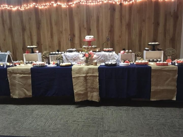 Cake and treats table