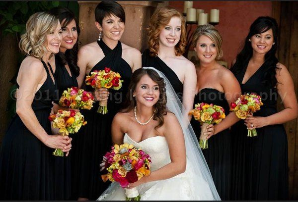 makeup by Rachel on bride and bridal party