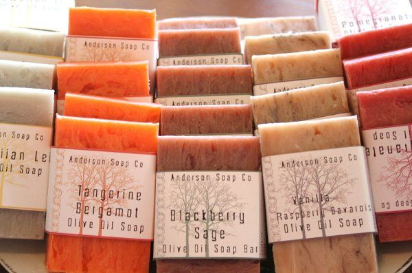 Full size bars with custom labels for wedding parties you choose the scent of soaps/styles and...