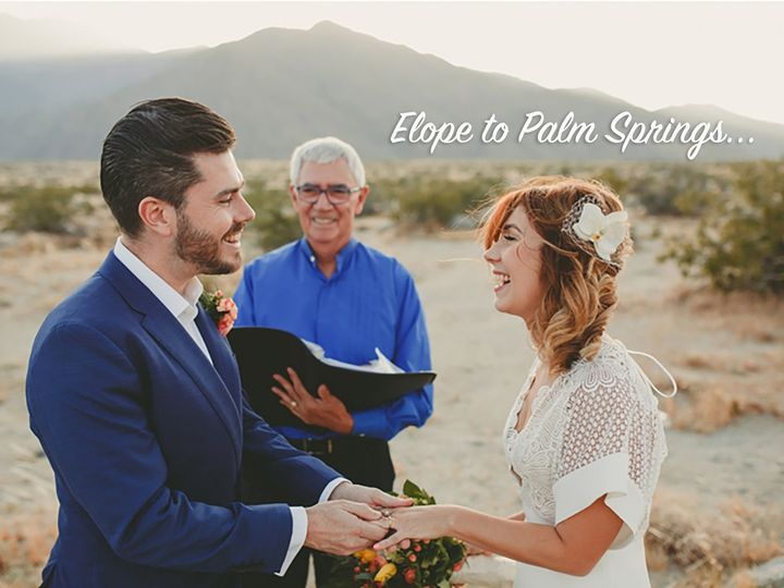 Tmx A 51 61205 Palm Springs wedding officiant