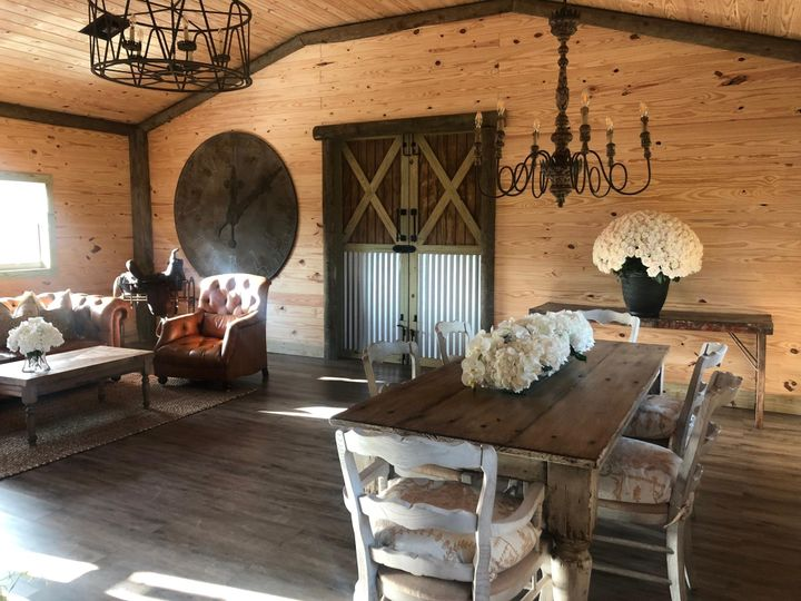 Vintage barn interior
