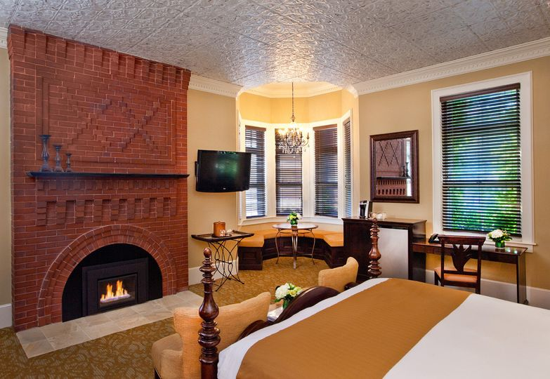 With room to prep, a cozy fireplace and period details, our Regency Suites make for a perfect Bridal...