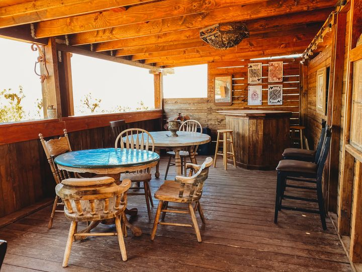 Ranch house and Saloon