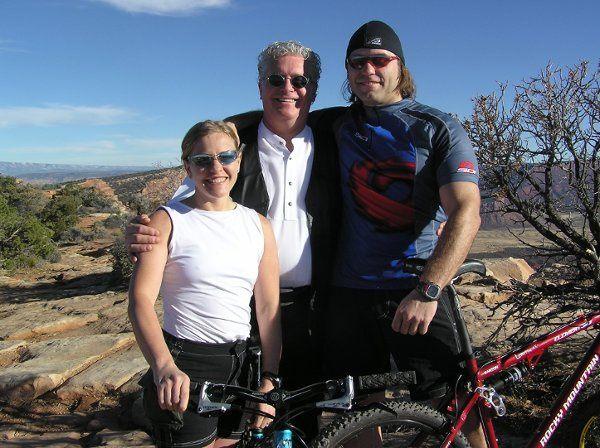 Mountain bike wedding