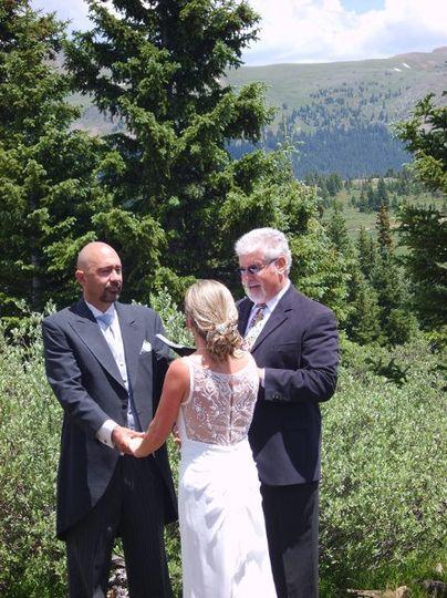 High meadow wedding