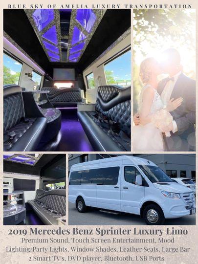 Bridal Party Limousine
