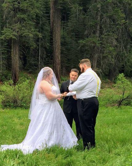 Tuolumne County Wedding