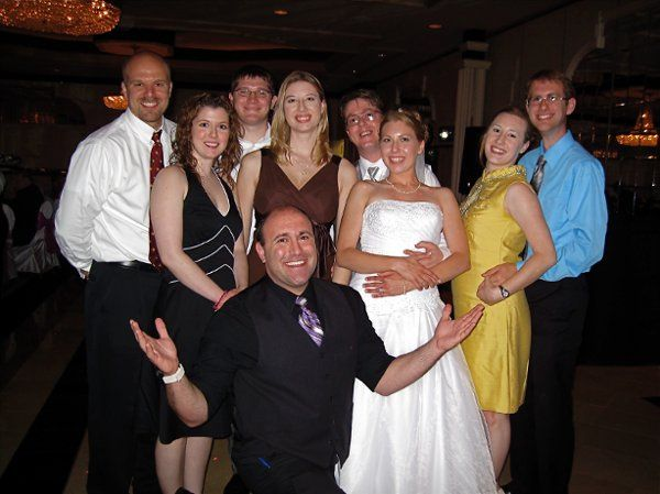 The cpouple and guests