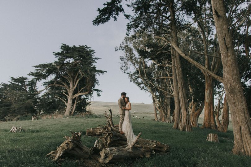 Marshall, CA Photo by Kindred Weddings