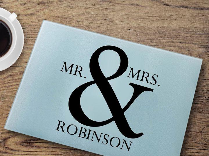 Tmx Cutting Board Mr And Mrs 51 1635205 1573156601 Cincinnati, OH wedding favor