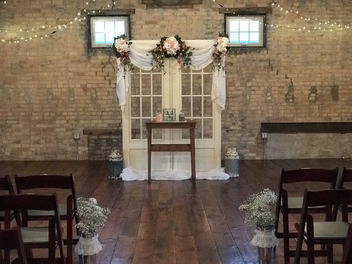 Ceremony option in main hall