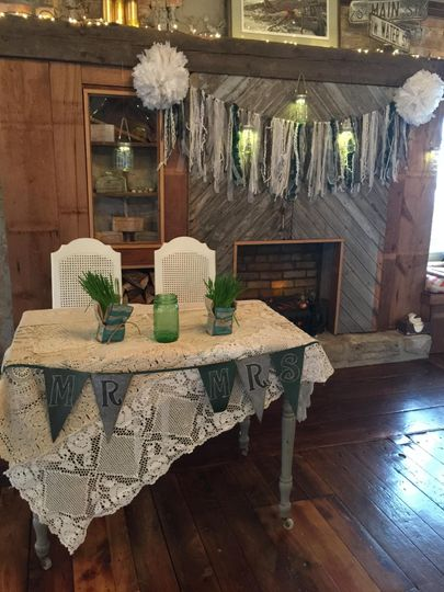 Sweetheart Table option